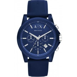 Comprare Orologio Armani Exchange Uomo Outerbanks Cronografo AX1327