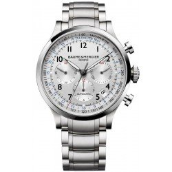 Orologio Baume & Mercier Uomo Capeland 10064 Cronografo Automatico