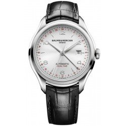 Orologio Baume & Mercier Uomo Clifton Dual Time Automatic 10112