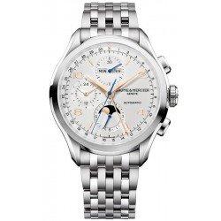 Comprare Orologio Baume & Mercier Uomo Clifton Chronograph Moonphase Automatic 10279