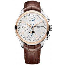 Comprare Orologio Baume & Mercier Uomo Clifton Chronograph Moonphase Automatic 10280