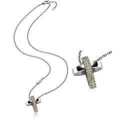 Comprare Collana Breil Donna Charming Cross TJ1461