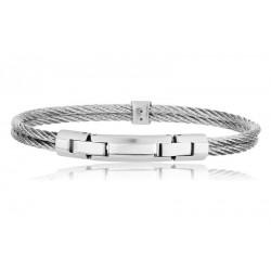 Comprare Bracciale Breil Uomo Cable TJ1827