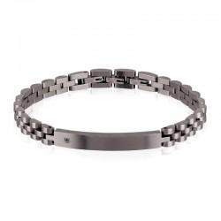 Comprare Bracciale Breil Uomo Black Diamond TJ2400