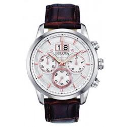Orologio Bulova Uomo Sutton Classic Cronografo Quartz 96B309