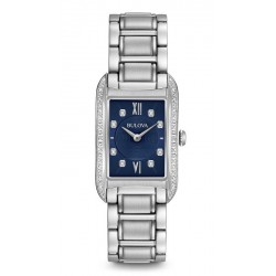Orologio Bulova Donna Curv Diamonds 96R211 Quartz