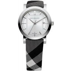 Orologio Unisex Burberry The City Nova Check BU1378