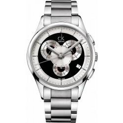 Orologio Uomo Calvin Klein Basic K2A27104 Cronografo