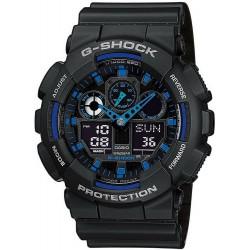 Orologio da Uomo Casio G-Shock GA-100-1A2ER Multifunzione Ana-Digi