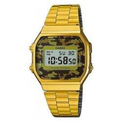 Comprare Orologio Unisex Casio Collection A168WEGC-5EF Mimetico Multifunzione Digitale