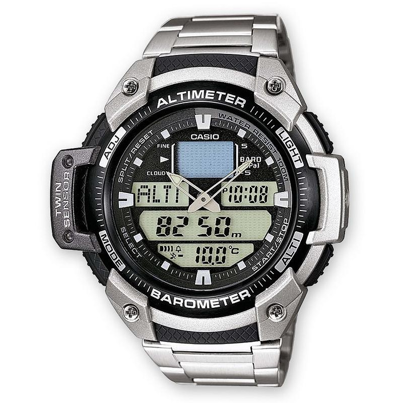 Orologio Casio Digi 1bver Da Sgw 400hd Uomo Collection Multifunzione Ana QrdthCs