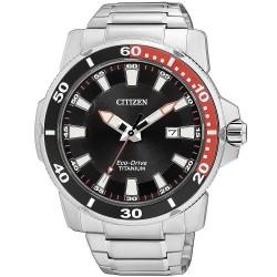 Orologio da Uomo Citizen Sport Titanio Eco-Drive AW1221-51E