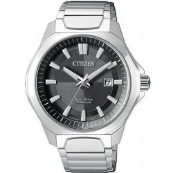 Orologio da Uomo Citizen Super Titanium Eco Drive AW1540-53E