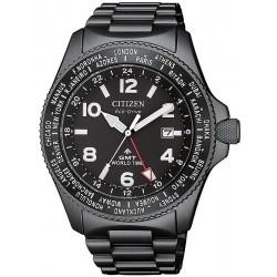Orologio da Uomo Citizen Promaster Field GMT BJ7107-83E