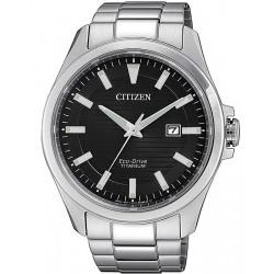 Orologio da Uomo Citizen Super Titanium Eco-Drive BM7470-84E