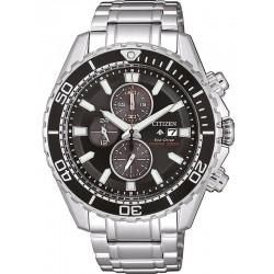 Orologio da Uomo Citizen Promaster Crono Diver's 200M Eco-Drive CA0711-80H