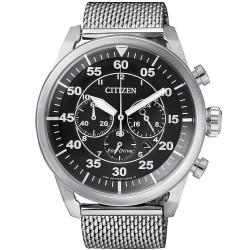 Orologio da Uomo Citizen Crono Aviator Eco-Drive CA4210-59E