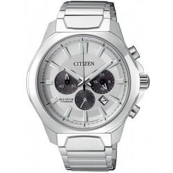 Orologio da Uomo Citizen Super Titanium Crono Eco-Drive CA4320-51A