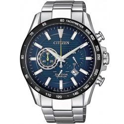 Orologio da Uomo Citizen Super Titanium Crono Eco-Drive CA4444-82L
