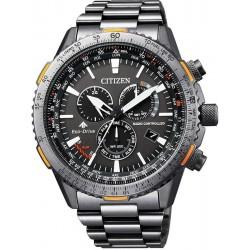 Orologio da Uomo Citizen Radiocontrollato Crono Pilot CB5007-51H