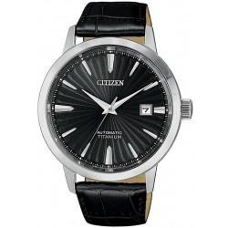Orologio da Uomo Citizen Super Titanium Meccanico NJ2180-46E