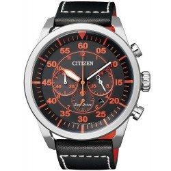 Comprare Orologio da Uomo Citizen Crono Aviator Eco-Drive CA4210-08E