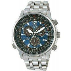 Comprare Orologio da Uomo Citizen Radiocontrollato Crono Pilot Titanio AS4050-51L