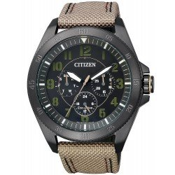 Orologio da Uomo Citizen Military Eco-Drive BU2035-05E Multifunzione