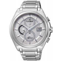 Orologio da Uomo Citizen Super Titanium Crono Eco-Drive CA0350-51A