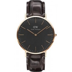 Orologio Daniel Wellington Uomo Classic Black York 40MM DW00100128