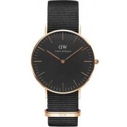 Comprare Orologio Daniel Wellington Unisex Classic Black Cornwall 36MM DW00100150