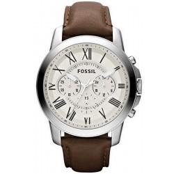 Comprare Orologio da Uomo Fossil Grant FS4735 Cronografo Quartz