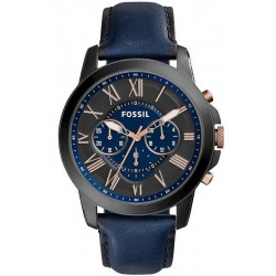 Comprare Orologio da Uomo Fossil Grant FS5061 Cronografo Quartz