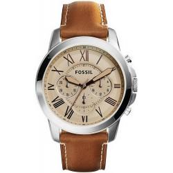 Comprare Orologio da Uomo Fossil Grant FS5118 Cronografo Quartz