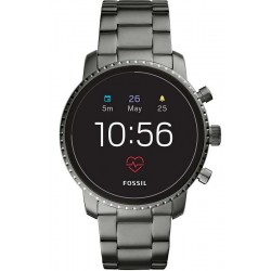 Orologio da Uomo Fossil Q Explorist HR Smartwatch FTW4012
