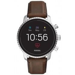 Orologio da Uomo Fossil Q Explorist HR Smartwatch FTW4015