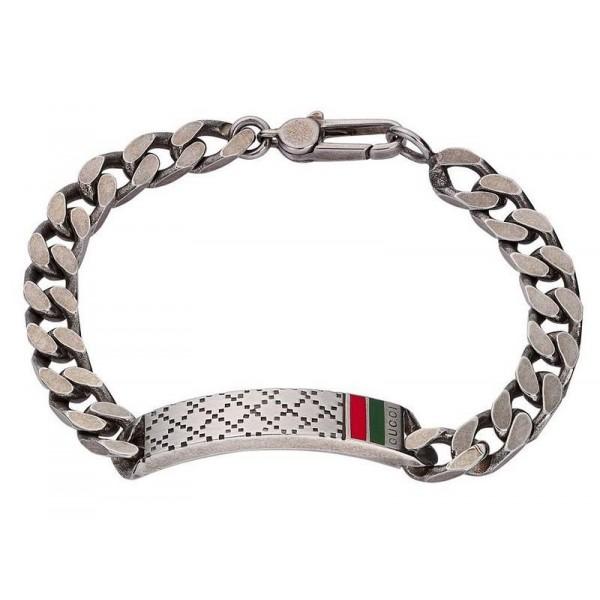 Comprare Bracciale Gucci Uomo Diamantissima YBA295676001017