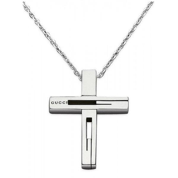 Comprare Collana Gucci Uomo Silver YBB22836400100U