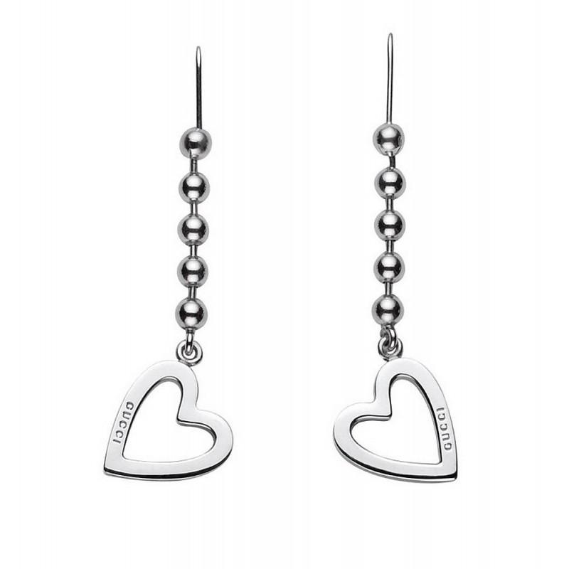 Orecchini Gucci Donna Toggle Heart YBD18144500100U - Gioielli alla Moda 8968beb99556