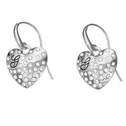 Comprare Orecchini Guess Donna Glossy Hearts UBE51433