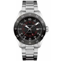 Orologio Hamilton Uomo Khaki Aviation Pilot GMT Auto H76755135