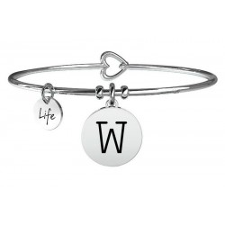 Bracciale Kidult Donna Symbols Lettera W 231555W