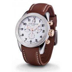Comprare Orologio Locman Uomo Isola d'Elba Cronografo Quartz 0460M08-0RWHBKPN