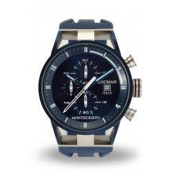 Comprare Orologio Locman Uomo Montecristo Cronografo Quartz 0510BLBLFWH0SIB