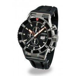 Comprare Orologio Locman Uomo Montecristo Professional Diver Cronografo 051200KOBKNKSIK
