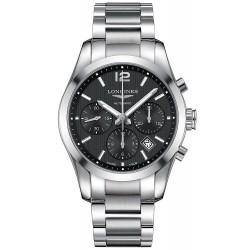 Comprare Orologio Longines Uomo Conquest Classic L27864566 Cronografo Automatico