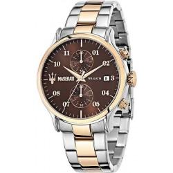 Orologio Uomo Maserati Epoca R8873618001 Cronografo Quartz