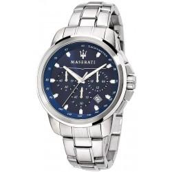 Orologio Uomo Maserati Successo R8873621002 Cronografo Quartz