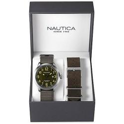 Orologio Nautica Uomo NCC 01 Date Box Set NAI12525G
