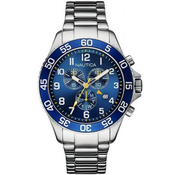 Comprare Orologio Nautica Uomo NST 19 Cronografo NAI17508G